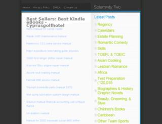 cyprusgolfhotel.com screenshot