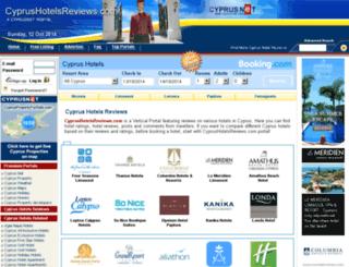 cyprushotelsreviews.com screenshot