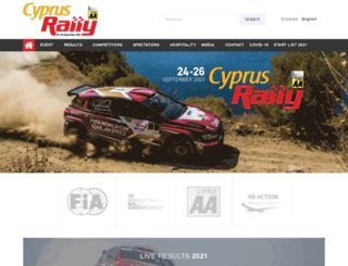 cyprusrally.com.cy screenshot