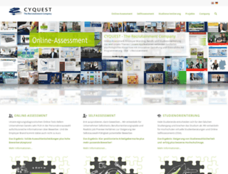 cyquest.net screenshot