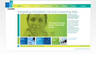 cyres.co.uk screenshot