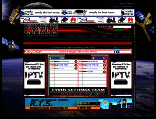 cyrussettings.com screenshot