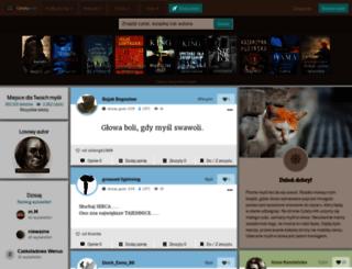 cytaty.info screenshot