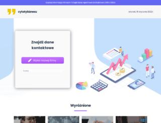 cytatybiznesu.pl screenshot