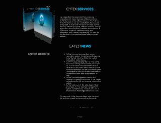 cytekservices.com screenshot