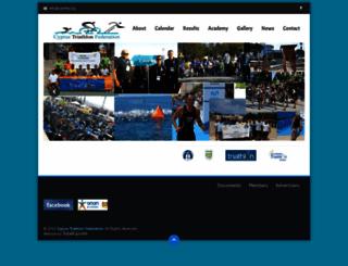 cytrifed.org screenshot