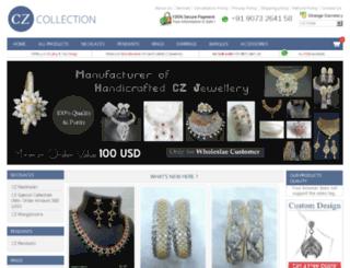 cz-jewellery.com screenshot