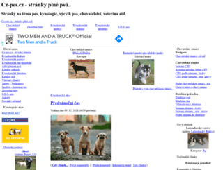 cz-pes.cz screenshot