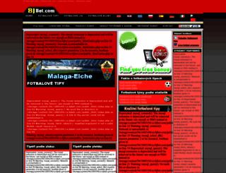 cz.bjbet.com screenshot