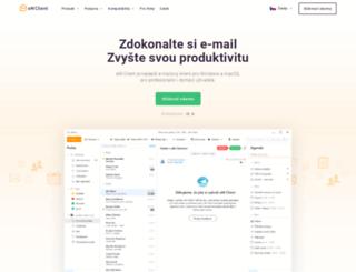 cz.emclient.com screenshot