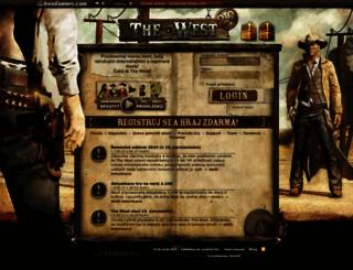 cz2.the-west.cz screenshot