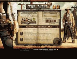 cz5.the-west.cz screenshot