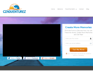 czadventurez.com screenshot