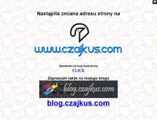czajkus.friko.pl screenshot