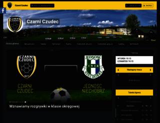czarni-czudec.futbolowo.pl screenshot