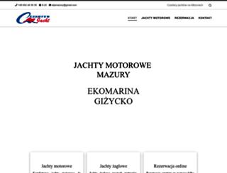czarter-jacht-mazury.pl screenshot