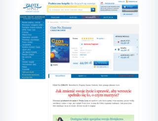 czasnazmiany.zlotemysli.pl screenshot