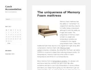 czech-accommodation.net screenshot