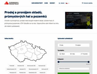 czech-industrial.cz screenshot
