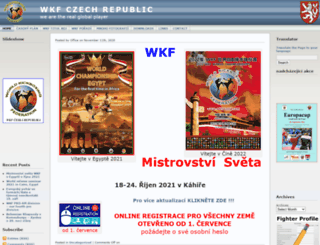 czech.wkfworld.com screenshot