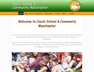 czechschoolmanchester.org screenshot