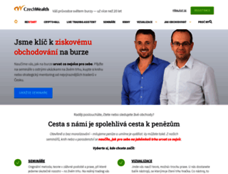 czechwealth.cz screenshot
