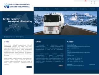czerwinski-transport.prv.pl screenshot