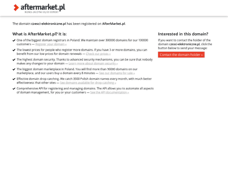 czesci-elektroniczne.pl screenshot