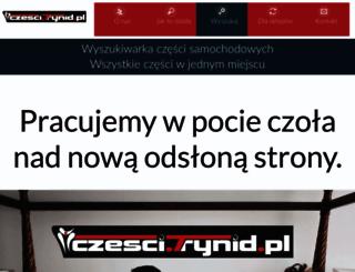 czesci.trynid.pl screenshot