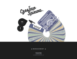 czeslawspiewa.com screenshot