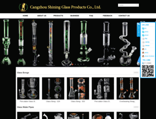 czshiningglass.com screenshot