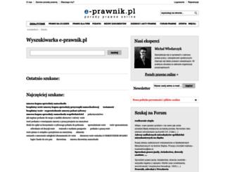 czytaj.e-prawnik.pl screenshot