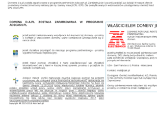 d-a.pl screenshot