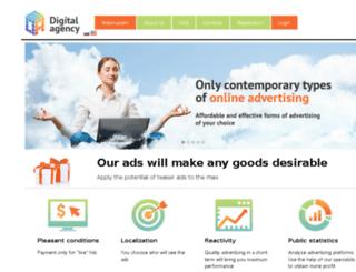 d-agency.net screenshot
