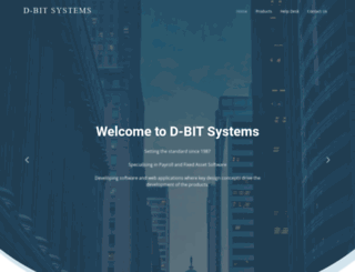 d-bit.co.za screenshot