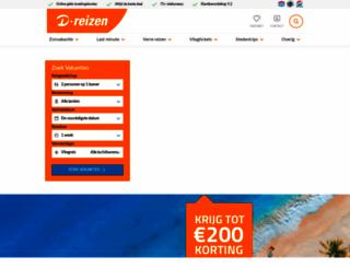 d-reizen.nl screenshot