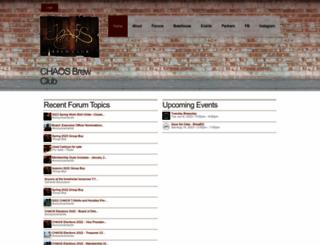 d.chaosbrewclub.net screenshot