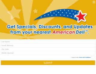 d.iloveamericandeli.com screenshot