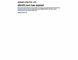 d0m03.com screenshot