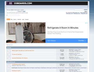 d3boards.com screenshot