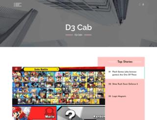 d3cab.org screenshot