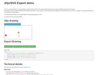 d3export.housegordon.org screenshot