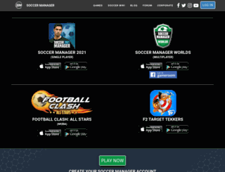 da-dk.soccermanager.com screenshot