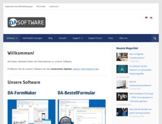da-software.de screenshot