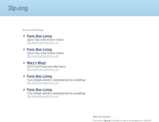 da.3lp.org screenshot