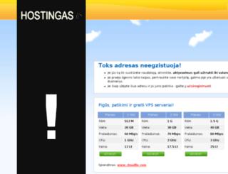 da2.hostingas.in screenshot