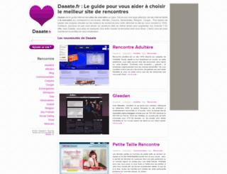 daaate.fr screenshot