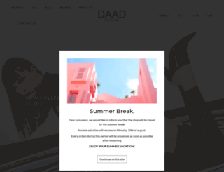 daad-dantone.com screenshot