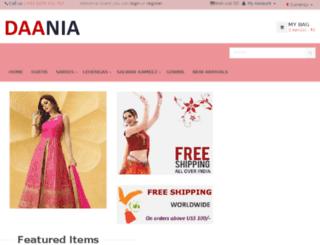 daania.com screenshot