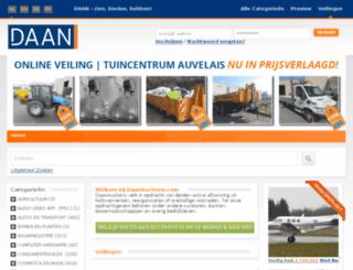 daanveilingen.nl screenshot